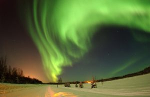 north, night, imagination, aurora